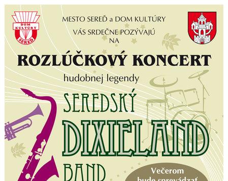 Rozlúčkový koncert Dixieland Band