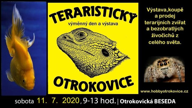 Teraristický výměnný den a výstava * 11. 7. 2020