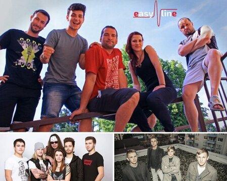 Hodonínské kulturní léto - Bigbity rock, Šroti, Easy line