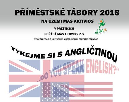 Jazykový příměstský tábor - Tykejme si s angličtinou