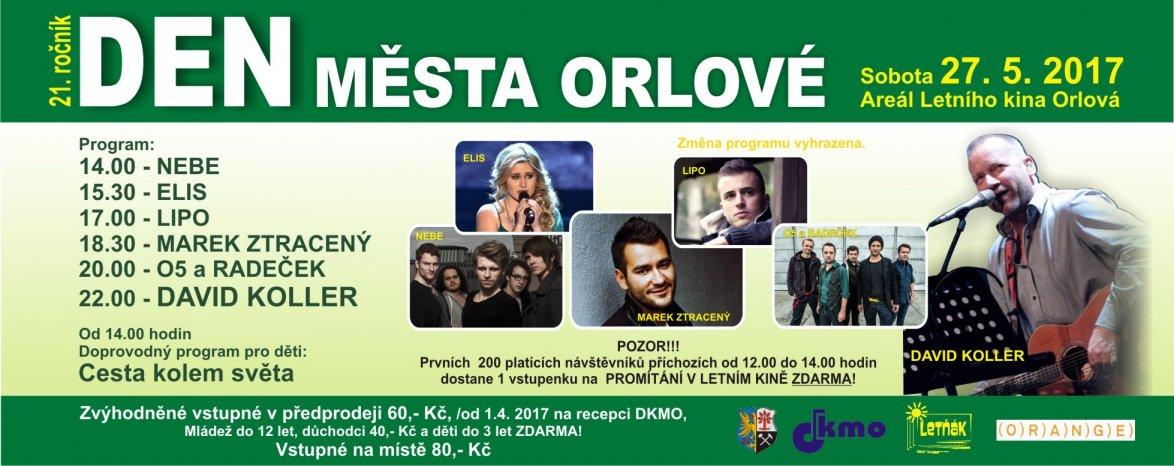 XXI. Den města Orlové