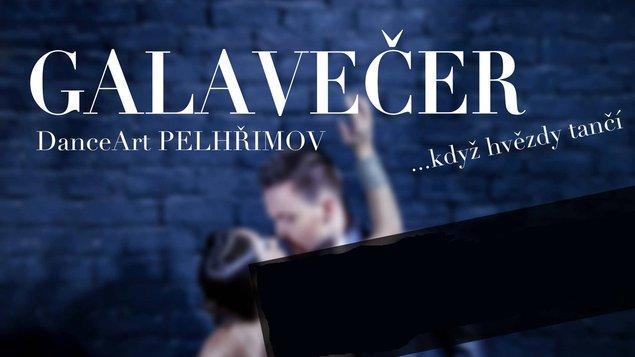 GALAVEČER DanceArt Pelhřimov ...když hvězdy tančí