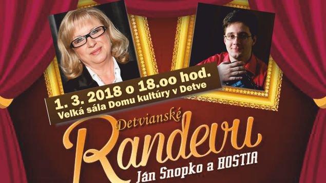 RANDEVU JÁN SNOPKO A HOSTIA / Elena Vacvalová, Michal Červienka