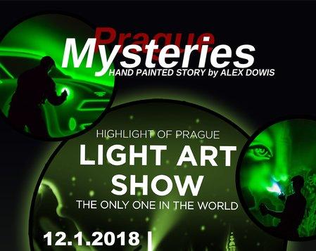Light art show - maľovanie svetlom
