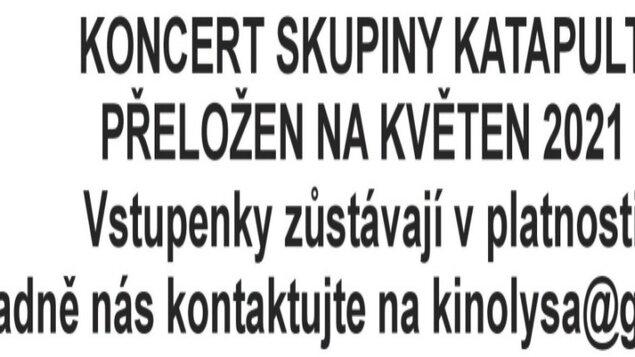 Katapult Nostalgia tour- koncert letní kino