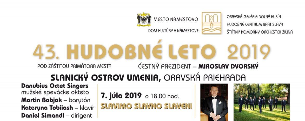 HUDOBNÉ LETO 2019 - SLAVIMO SLAVNO SLAVENI