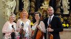 KONCERT NA VALŠE s Melody Quartett