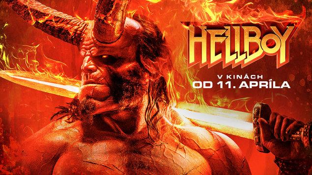 VÝHODNÝ PONDELOK ZA 4 EURÁ - Hellboy