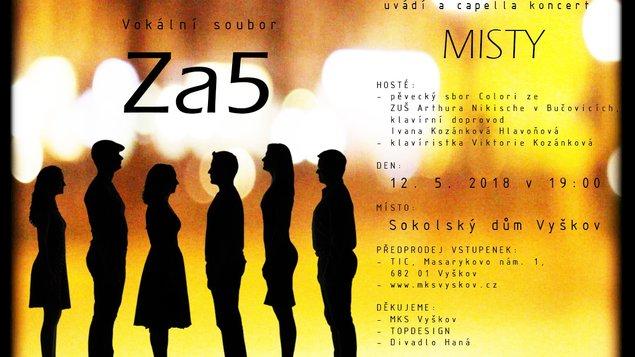 Vokální soubor Za5: MISTY