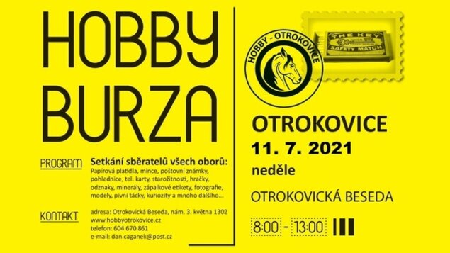 Hobby burza * 11. 7. 2021