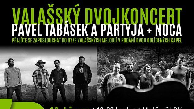 Valašský dvojkoncert: Pavel Tabásek a Partyja & Noca