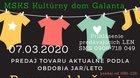 RC Bambuľkovo burza oblečenia 2020
