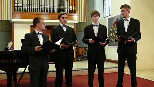 Koncert mladých operních pěvců