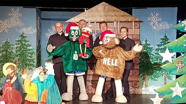 Vánoční čas s JŮ a HELE