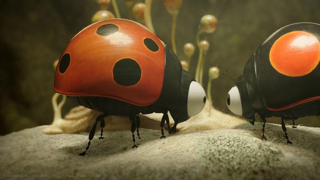 Mrňouskové: Daleko od domova