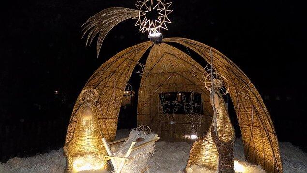 Slavnostní rozsvícení betlému