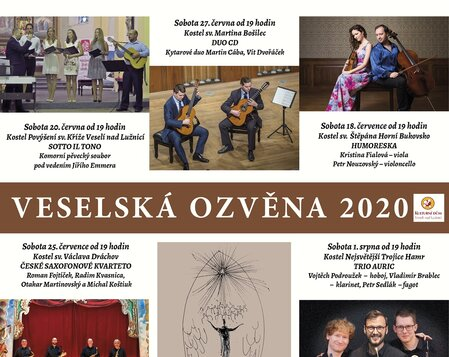 Veselská ozvěna 2020 - Klarinetový soubor Prachatice