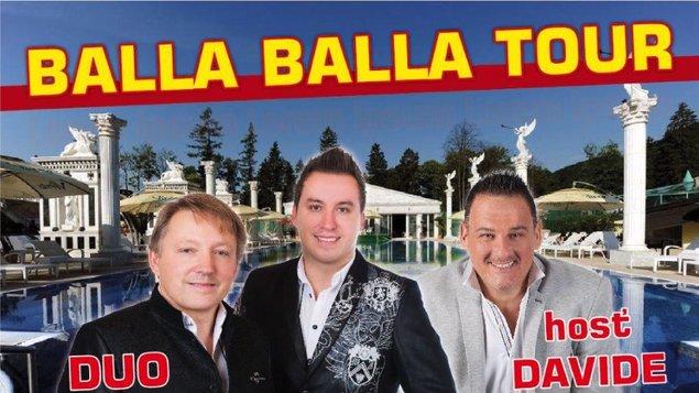 BALLA BALLA TOUR 2019 - DUO JAMAHA a hosť DAVIDE MATTIOLI