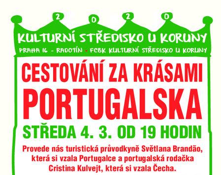 4.3. 2020 v 19.00 * Cestování za krásami Portugalska