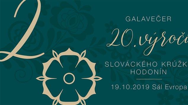 Galavečer k 20.výročí Slováckého krúžku Hodonín