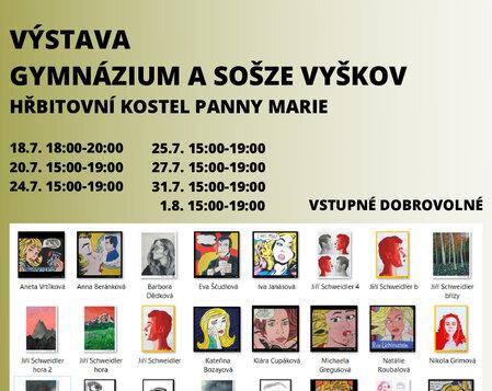 Výstava: Gymnázium a SOŠZE Vyškov