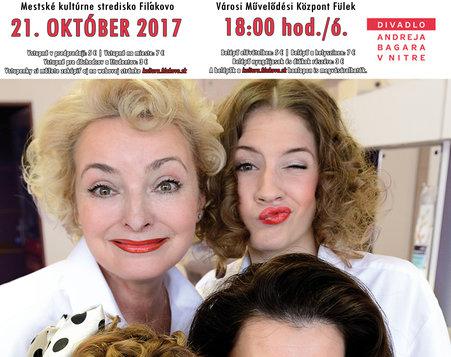 Divadlo Andreja Bagara: Dámska šatňa