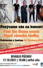 POCÍŤ RÓMSKU HUDBU/ Feel the Roma music s hosťom Jiří Stivínom