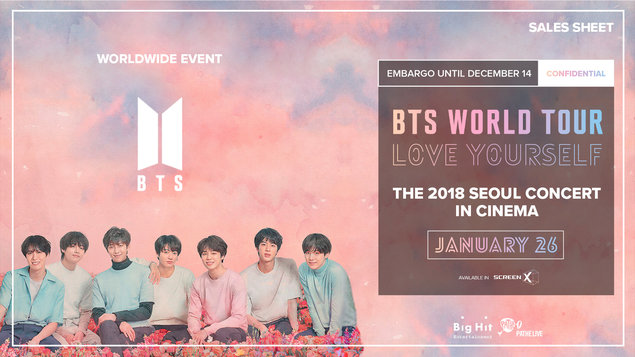 Bts Love Yourself Program And Tickets Online Kino Lumiere