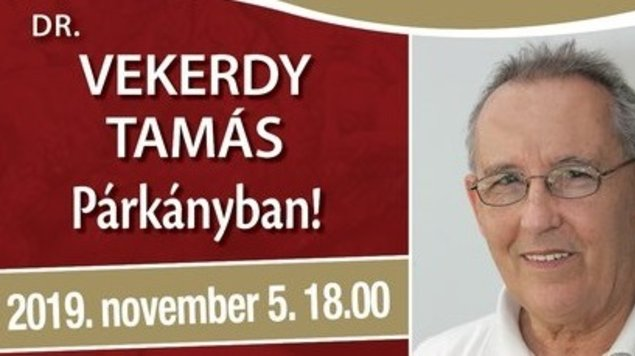 Nyitott Akadémia: Dr. Vekerdy Tamás, 05.11.2019