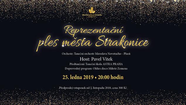 Reprezentační ples města Strakonice 2019