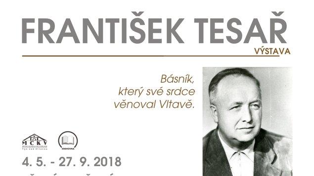 FRANTIŠEK TESAŘ - vernisáž výstavy v Městské knihovně