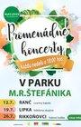 Harvestri Oukey - Promenádne koncerty v parku M. R. Štefánika