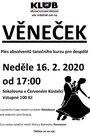 Věneček (taneční kurz pro dospělé) 2020