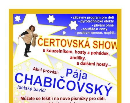 ČERTOVSKÁ SHOW 24.11. 2019