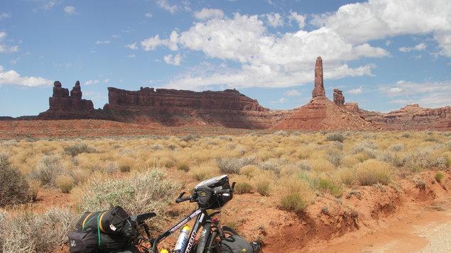 Na kole národními parky jihozápadu USA