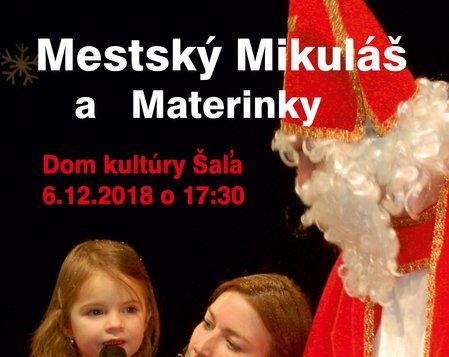 Mestský Mikuláš a Materinky