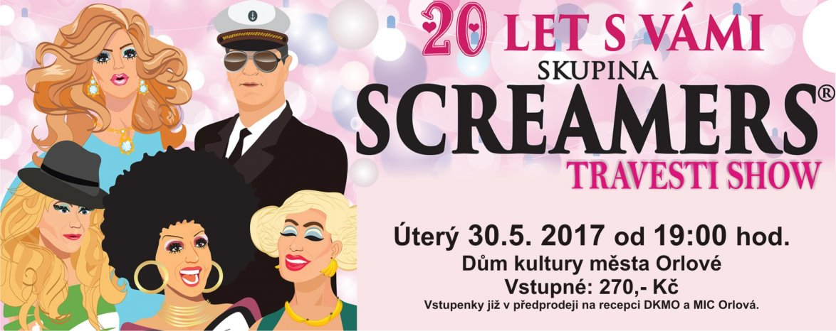 SCREAMERS - 20 let s Vámi
