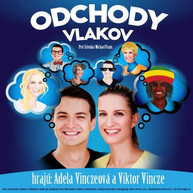 7dd5037ef Adela Vinczeová a Viktor Vincze - ODCHODY VLAKOV