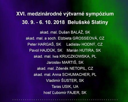 XVI. Medzinárodné výtvarné sympózium