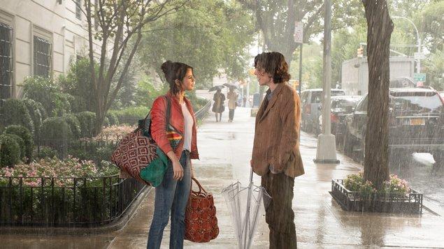 Daždivý deň v New Yorku