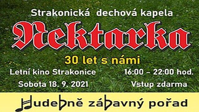 NEKTARKA  – 30 LET S NÁMI - 18.09.2021