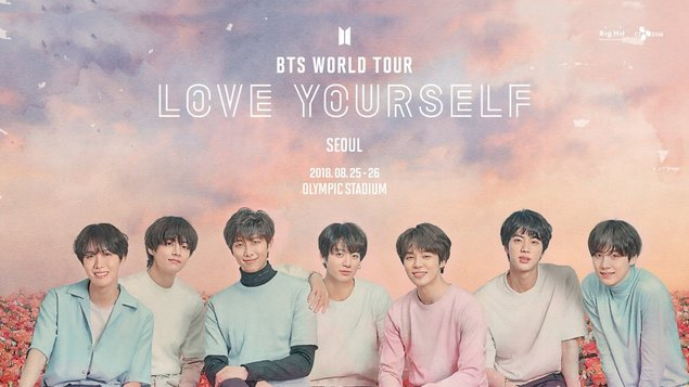 BTS Love Yourself Tour (koncert ze Soulu 2018)