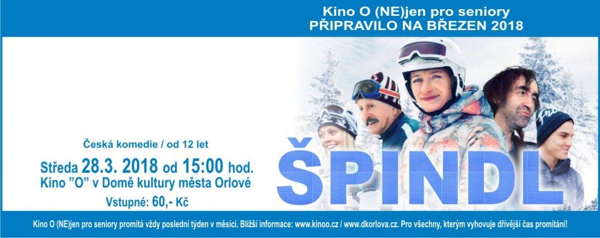 Špindl - Kino O (NE)JEN pro Seniory