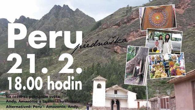 Přednáška o Peru