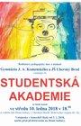Studentská akademie Gymnázia J. A. Komenského Uherský Brod