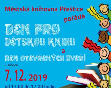 Den pro dětskou knihu a den otevřených dveří 7.12.2019