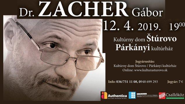 Dr. Zacher Gábor előadása, 2019.04.12.