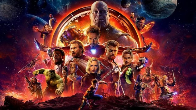 Avengers: Nekonečná vojna