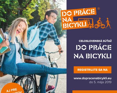 Do práce na bicykli 2019