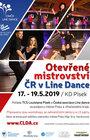 Otevřené mistrovství ČR 2019 v Line Dance